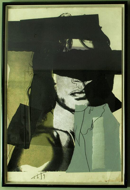 Andy Warhol, 'Mick Jagger', 1975, Print, Screenprint on paper. Ed. 103/250, Odalys
