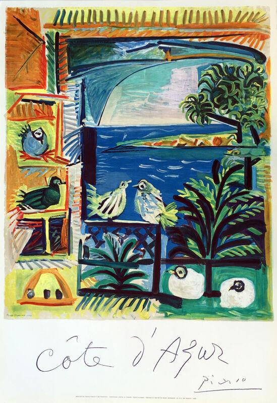 Pablo Picasso, 'Côte d'Azur', 1962, Posters, Lithograph Poster, Denis Bloch Fine Art