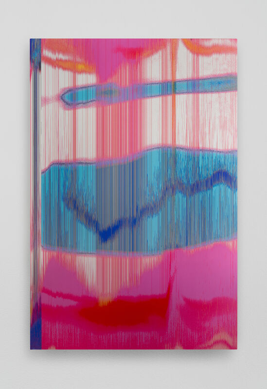 James Hoff, 'Skywiper No. 71', 2015, Painting, Chromaluxe transfer on aluminum, Callicoon Fine Arts