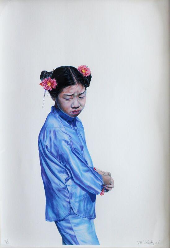 John Valadez, 'Untitled', 2001, Print, Lithograph, Robert Berman Gallery