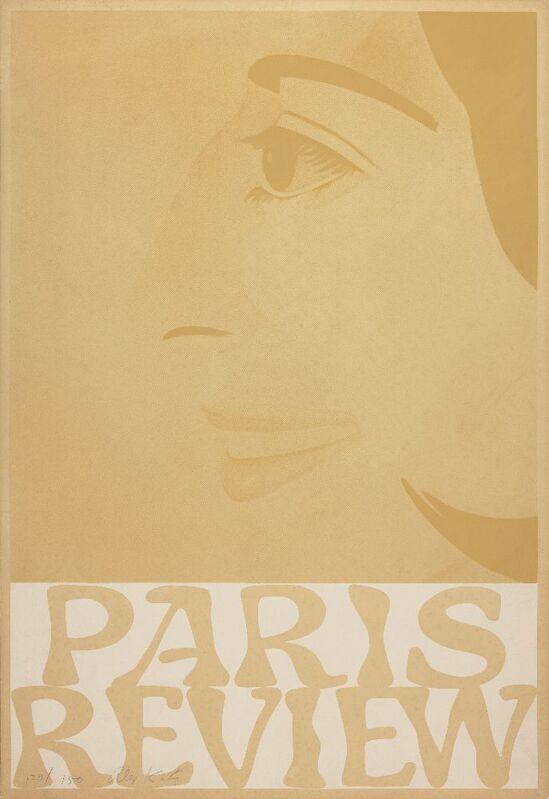 Alex Katz, 'Paris Review', 1965, Print, Screenprint in colour on wove, Roseberys