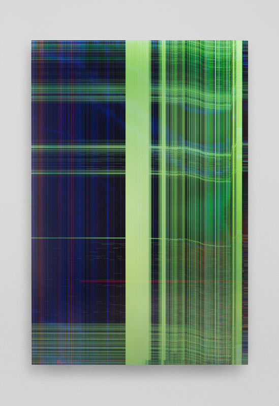 James Hoff, 'Skywiper No.73', 2015, Painting, Chromaluxe transfer on aluminum, Callicoon Fine Arts