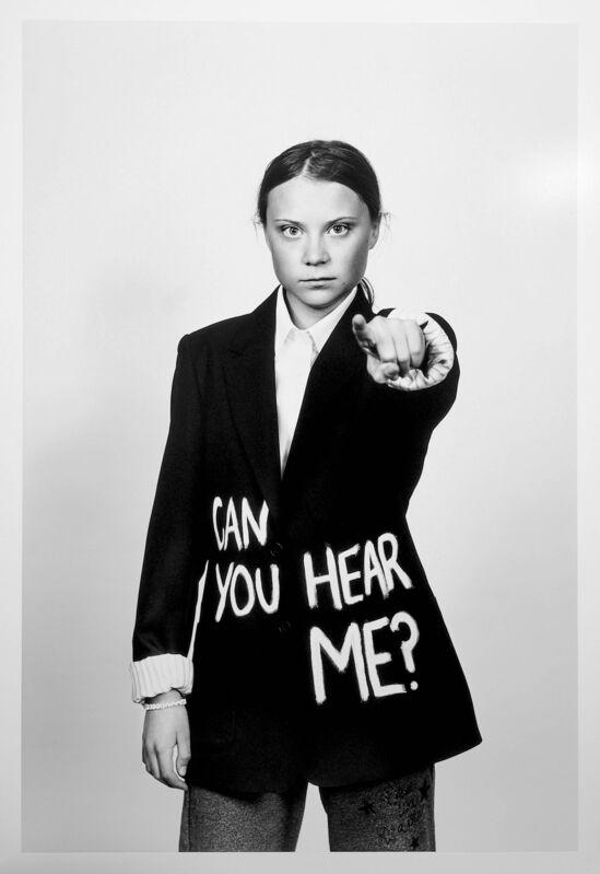 Christopher Hunt, 'Greta Thunberg for GQ Magazine', 2019, Photography, Fine art print, Tres Hombres