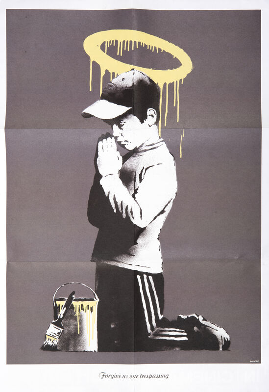 Banksy, 'Forgive Us Our Trespassing', 2010, Posters, Offset lithograph in colours, Tate Ward Auctions