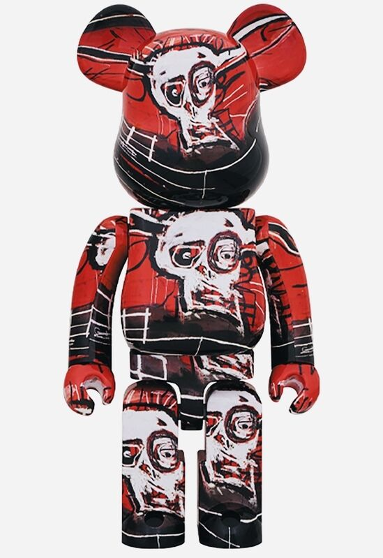 Jean-Michel Basquiat, 'Basquiat Bearbrick 400% (Basquiat BE@RBRICK)', 2020, Ephemera or Merchandise, Vinyl sculpture, Lot 180