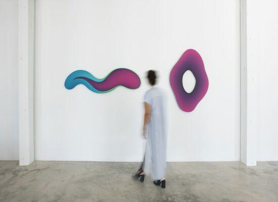 Jan Kaláb : SHAPE & TONE, installation view