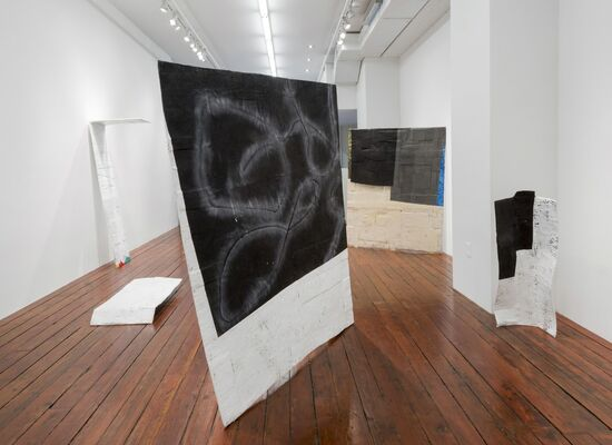 Fabienne Lasserre: Here Like A Story Like A Picture And A Mirror, installation view