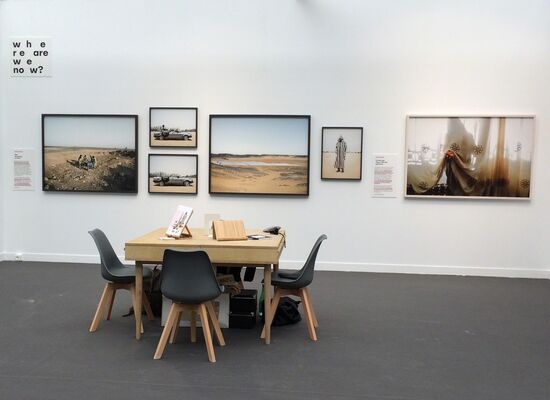 East Wing at Paris Photo 2016, installation view