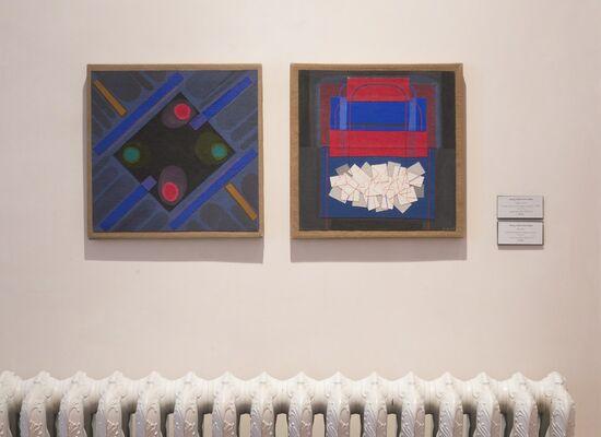 Margo Hoff: A Retrospective, installation view