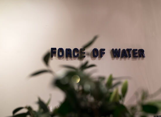 66: C.J. Chueca, The Force of Water/La Fuerza Del Agua, installation view