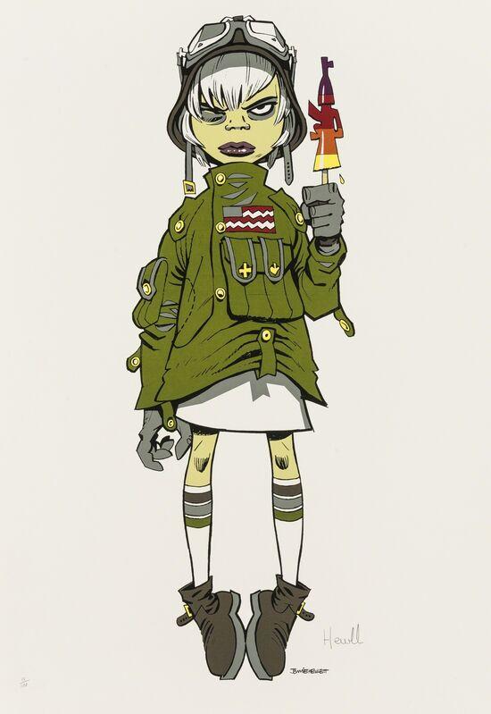 Jamie Hewlett, 'M16 Assault Lolly', 2005, Print, Screenprint in colours, Forum Auctions