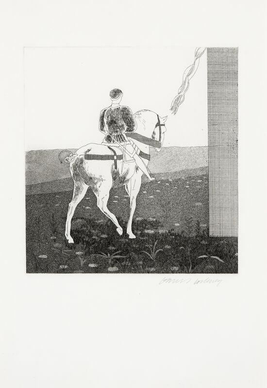 David Hockney, 'Rapunzel let down your hair', 1969, Print, Etching, Galerie Lelong & Co.