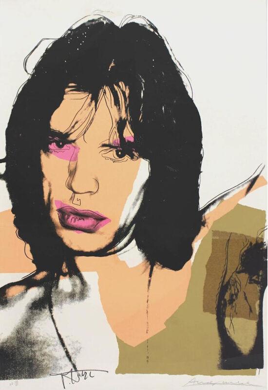 Andy Warhol, ' Mick Jagger 141', 1975, Print, Screenprint, ArtLife Gallery