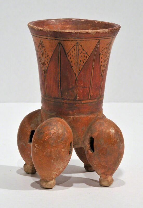Unknown Artist, 'Vessel', 300, Design/Decorative Art, Terra cotta with polychrome, Peyton Wright Gallery