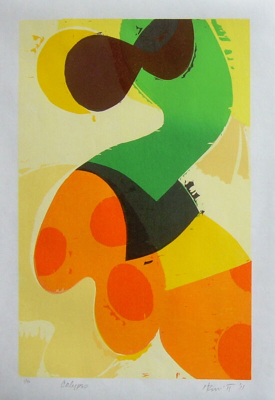 Charlie Hewitt, 'Calypso', 2011, Print, Woodcut, Jim Kempner Fine Art