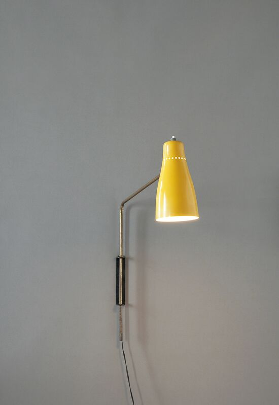 Pierre Guariche, 'Sconce G5', Design/Decorative Art, Yellow lacquered metal and gold brass, Galerie Pascal Cuisinier