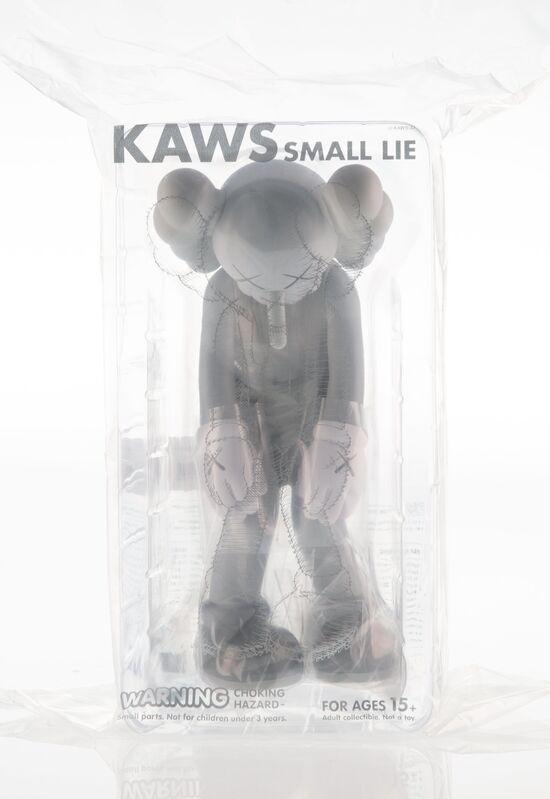 KAWS, 'Small Lie (Grey)', 2017, Sculpture, Painted cast vinyl, Heritage Auctions