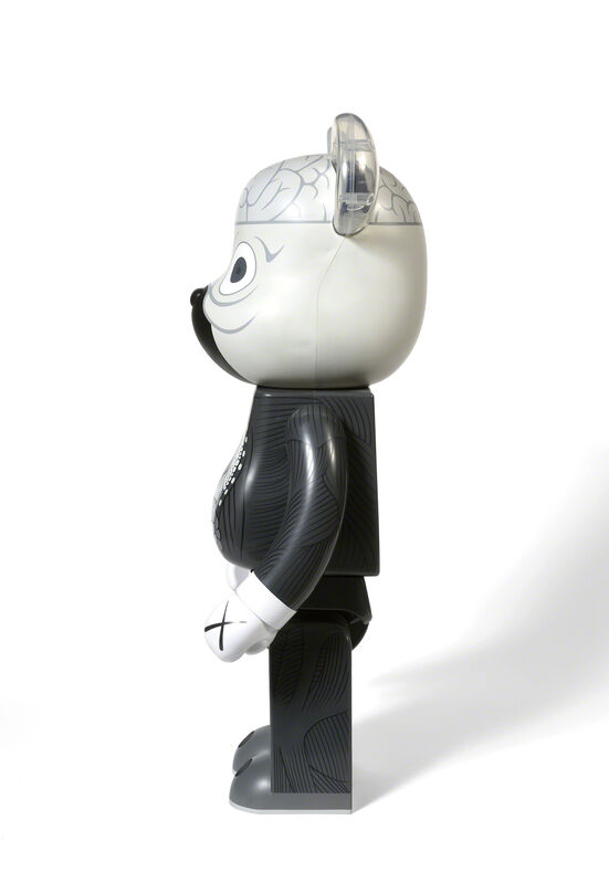 KAWS, 'BEARBRICK COMPANION (ORIGINALFAKE) 1 000 % (Grey)', 2010, Sculpture, Painted cast vinyl, DIGARD AUCTION