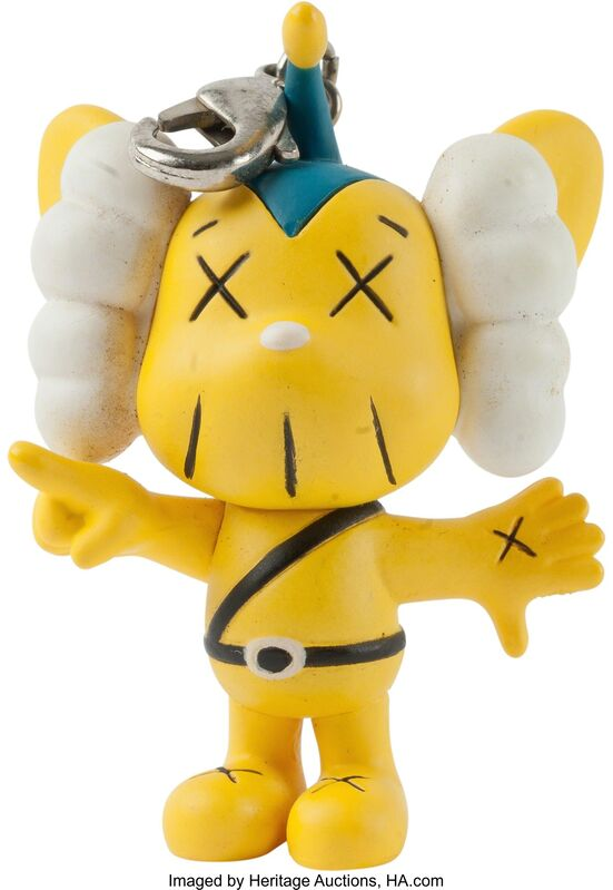 KAWS, 'JPP (yellow), keychain', 2011, Other, Painted cast vinyl, Heritage Auctions
