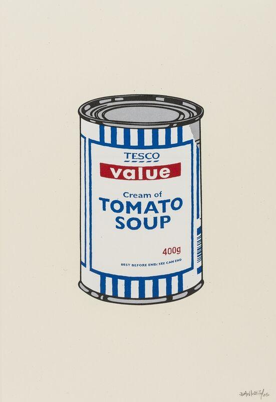 Banksy, 'Soup Can (Original)', 2005, Print, Screenprint in colours, Forum Auctions