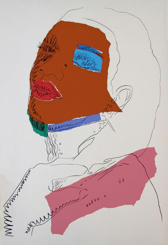Andy Warhol, 'LADIES & GENTLEMEN FS II.127', 1975, Print, SCREENPRINT ON ARCHES PAPER, Gallery Art