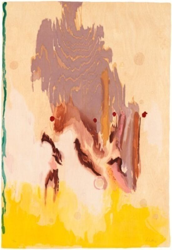 Helen Frankenthaler, 'Geisha', 2003, Print, Ukiyo-e woodcut, Lyndsey Ingram