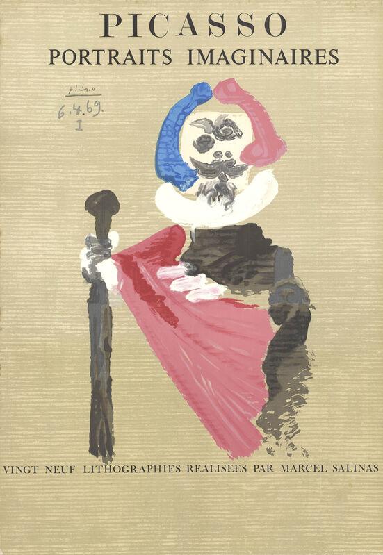 Pablo Picasso, 'Portraits Imaginaires', 1971, Ephemera or Merchandise, Stone Lithograph, ArtWise