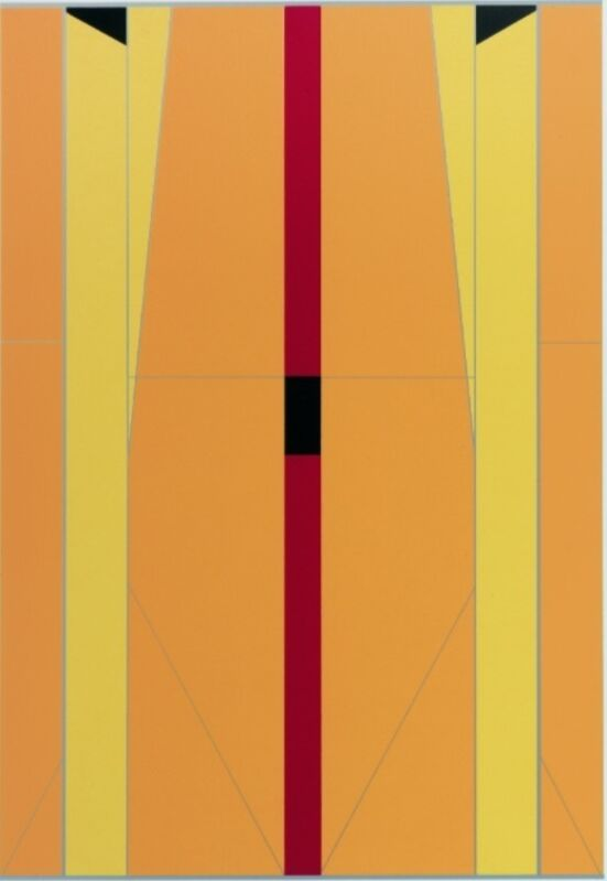 Fanny Sanin, 'Silkscreen No. 1', 2012, Drawing, Collage or other Work on Paper, Silkscreen printing, Leon Tovar Gallery