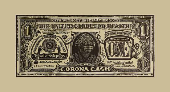 "Karen Whitman, '""Corona Cash""', 2020"