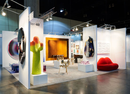 Gallery ALL at LA Art Show 2020, installation view