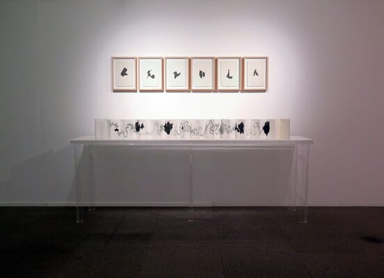 Xiao Bo solo exhibition, installation view