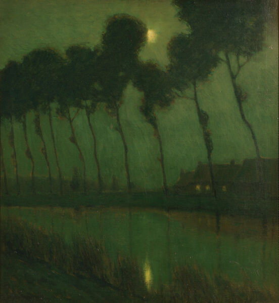 Charles Warren Eaton, 'Bruges Moonlight', ca. 1910