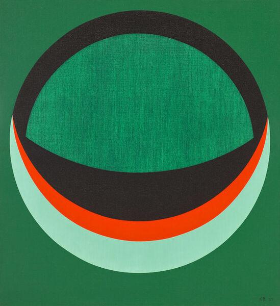 Karl Benjamin, 'Untitled', 1957