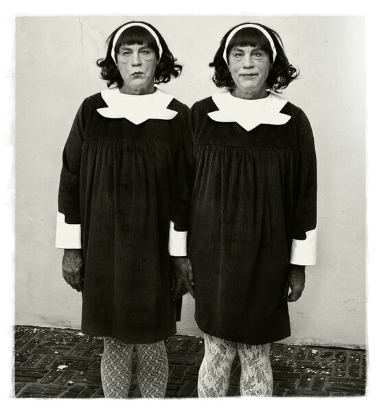 Sandro Miller, 'Diane Arbus / Identical Twins, Roselle, New Jersey, 1967 ', 2014