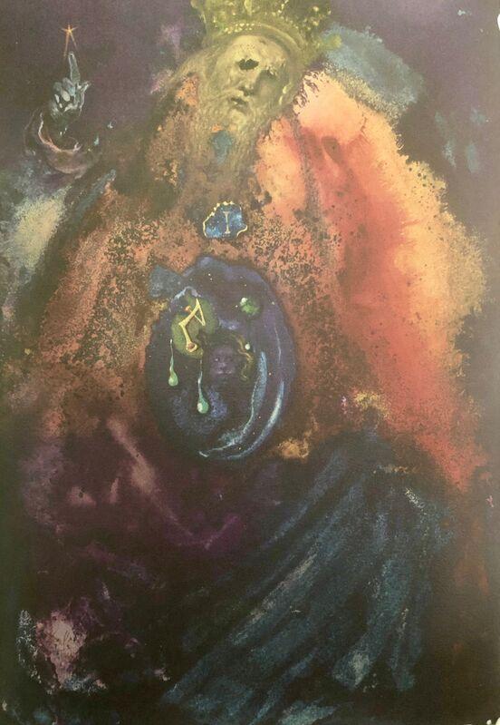 Salvador Dalí, 'Vanity of Vanities, 'Vanitas Vanitatum', Biblia Sacra', 1967, Print, Original Lithograph, Inviere Gallery