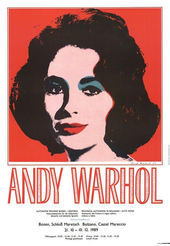 Andy Warhol, 'Liz Taylor', 1989, Ephemera or Merchandise, Offset Lithograph, ArtWise