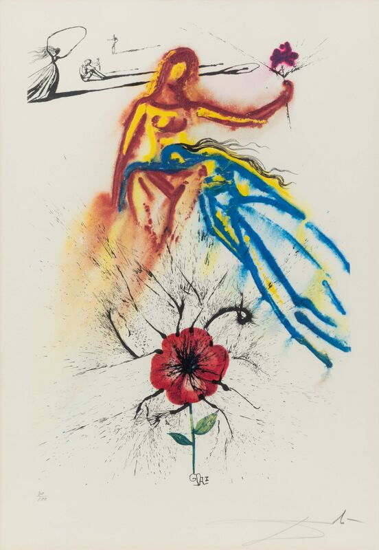 Salvador Dalí, 'Alice's Adventures in Wonderland (complete portfolio of 13)', 1969, Print, Color etching and heliogravures with remarque, Hindman