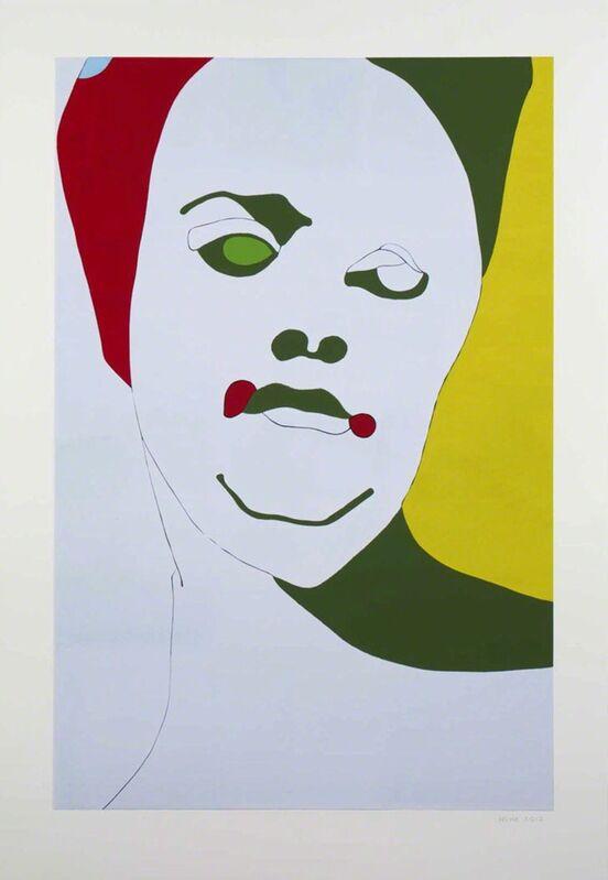 Gary Hume, 'Young Turk', 2012, Print, Linocut, Betsy Senior Fine Art