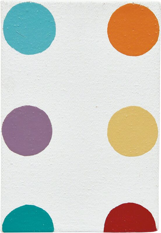 Damien Hirst, 'Bombesin', 1995, Painting, Household gloss on canvas, Phillips