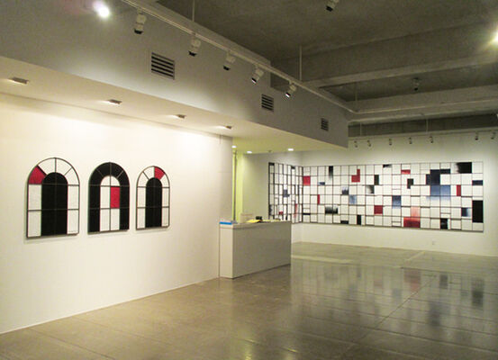 Shin Sangho, installation view