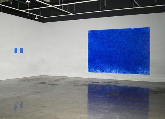 KIM,TSCHOON-SU,  ' THE AESTETICS OF BODY-ULTRAMARINE', installation view