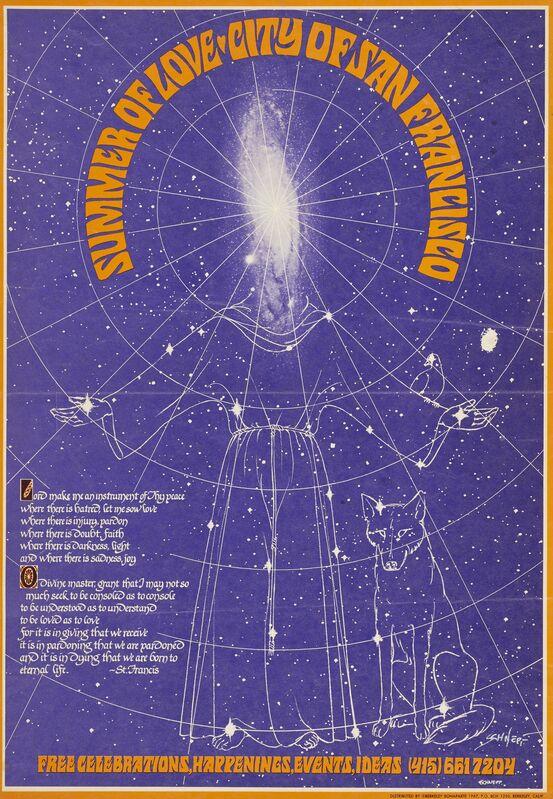 Bob Schnepf, 'Summer of Love/City of San Francisco', 1967, Ephemera or Merchandise, Color offset lithograph poster, de Young Museum
