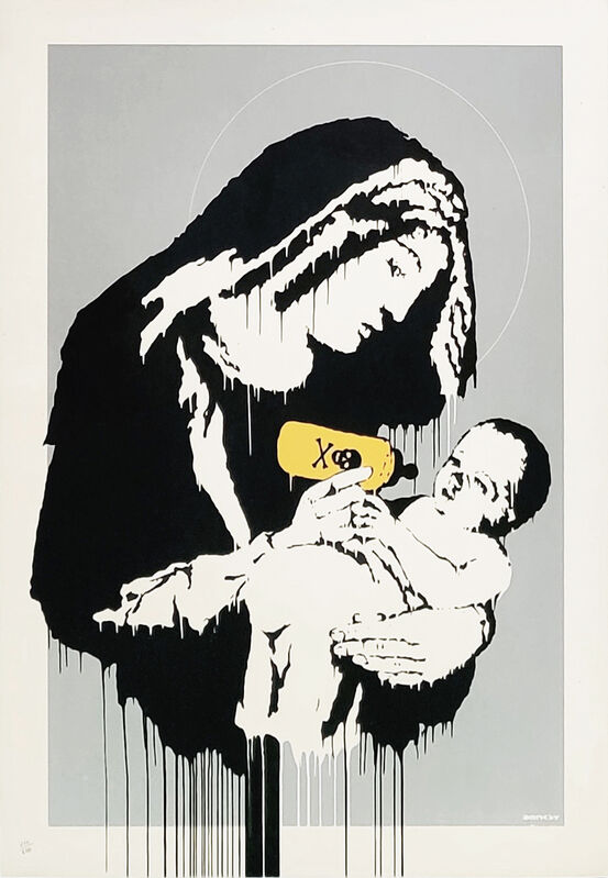 Banksy, 'TOXIC MARY', 2004, Print, SCREEN PRINT IN COLORS, Gallery Art
