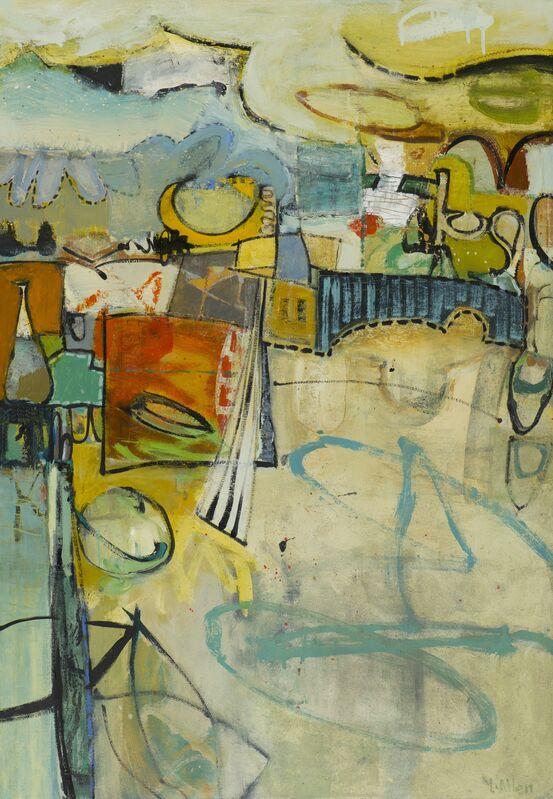 Leslie Allen, 'Boardwalk (Santa Cruz)', 2019, Painting, Oil on canvas over panel, Seager Gray Gallery