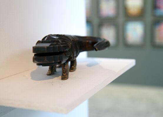 Pedro Friedeberg: El Elogio de la Locura Tattoo Shop, installation view