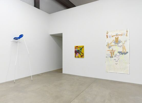 entering a song, installation view
