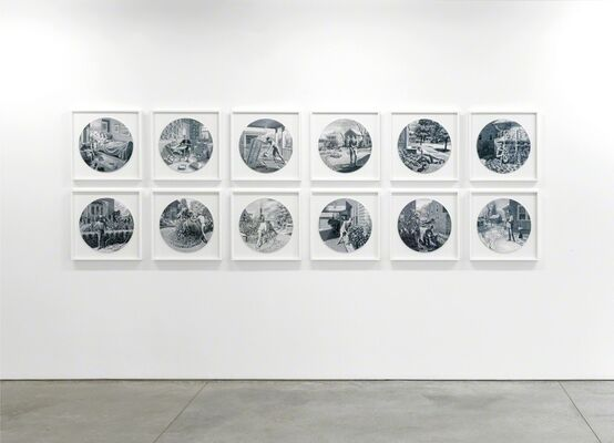 Andrew Raftery: Autobiography of a Garden on Twelve Engraved Plates, installation view