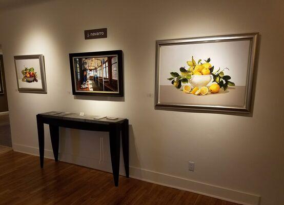 Oil & Water: The masterful works of Jesus Navarro & Iban Navarro, installation view