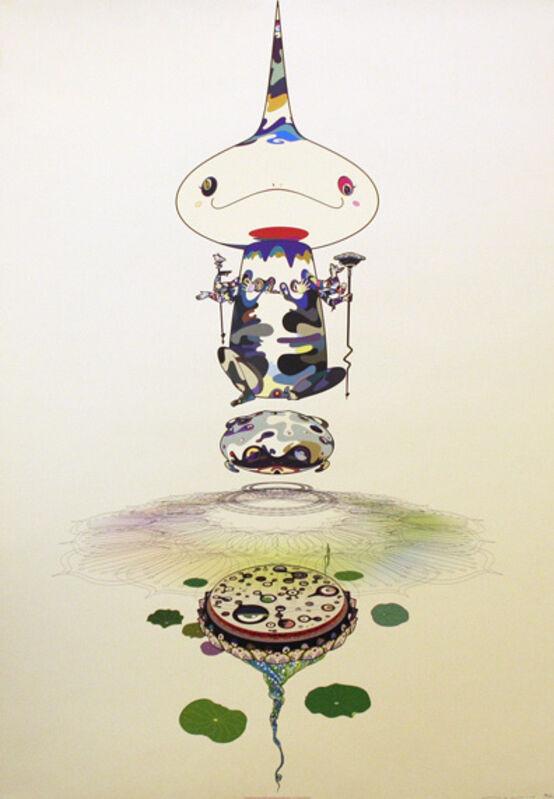 Takashi Murakami, 'REVERSED DOUBLE HELIX', 2005, Print, Offset Lithograph on Paper, Marcel Katz Art