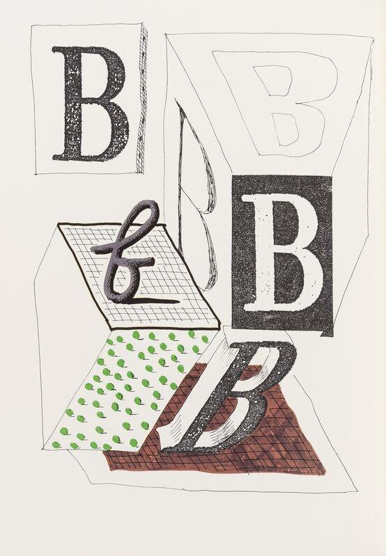 David Hockney, 'Hockney's Alphabet', 1991, Books and Portfolios, The book, Forum Auctions